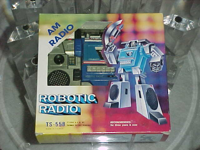 Robotic Radio not Soundwave