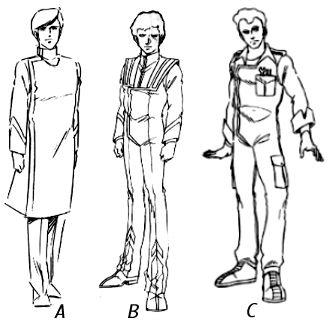 ROBOTECH: RDF Uniforms