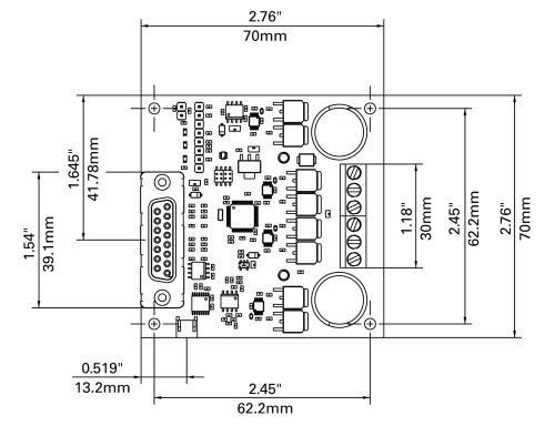 small resolution of brushed dc motor controller