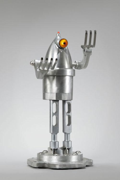 Robots made of scrap metal  Roboticmagazine