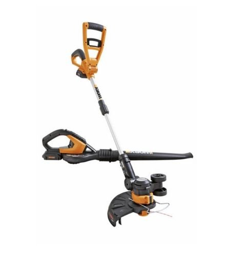 WG918 WORX 20V Grass Trimmer & Blower Combo with 2