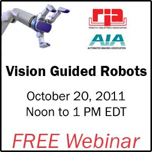 Free Webinar - Vision Guided Robots