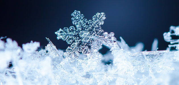 Snow Falling Background Wallpaper Smart Friday With Robotlab The Geometry Of Snowflakes