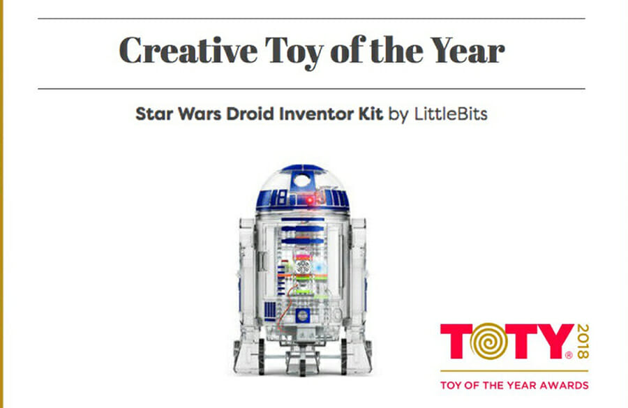 LittleBits Star Wars Droid Award