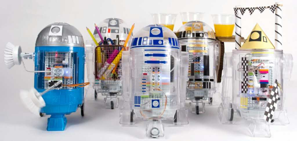 LittleBits Star Wars Droid tailor made