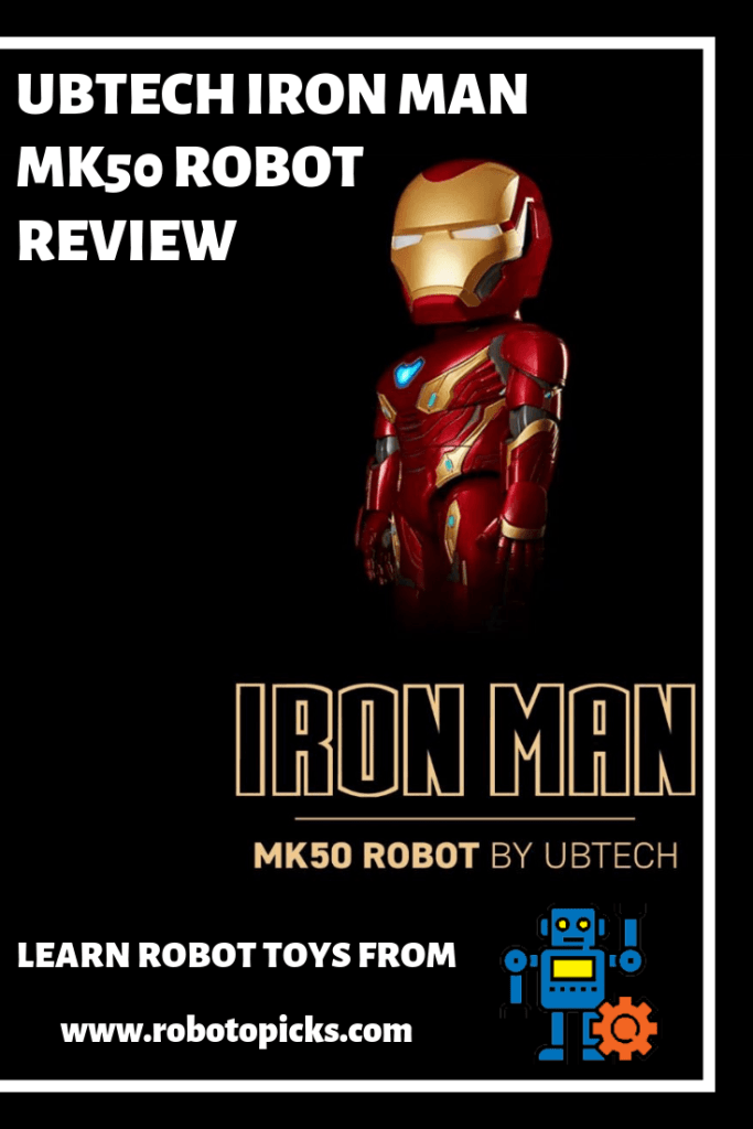 UBTECH Iron Man MK50 Robot Review, robotopicks