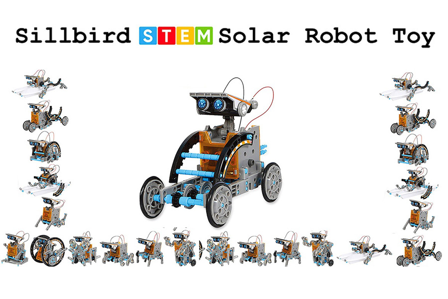 Sillbird – STEM 12-in-1 Education Solar Robot Toy Review