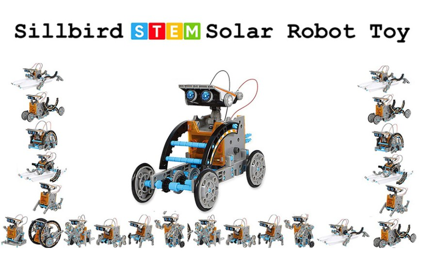 Sillbird – STEM 12-in-1 Education Solar Robot Toy Review