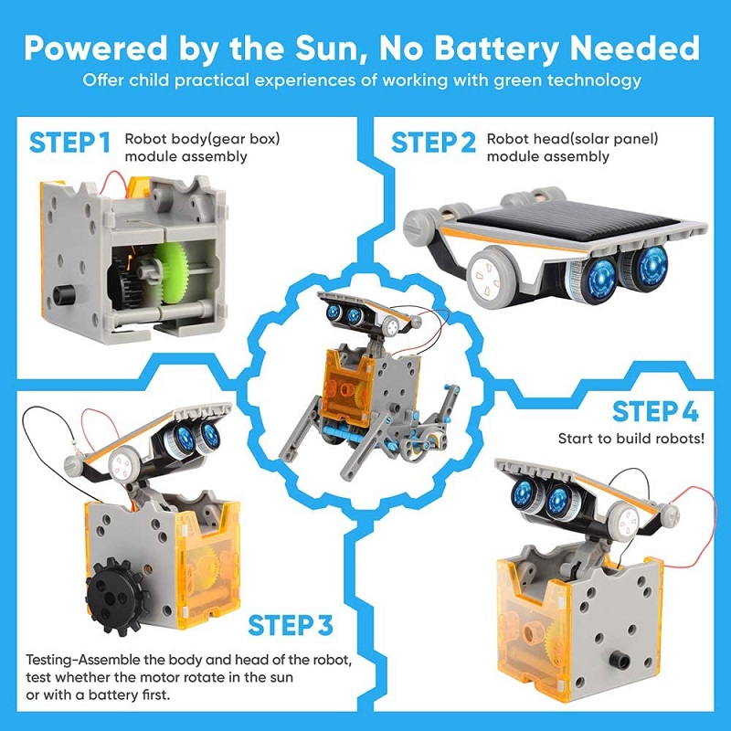 12-in-1 Education Solar Robot Toy_robotopicks