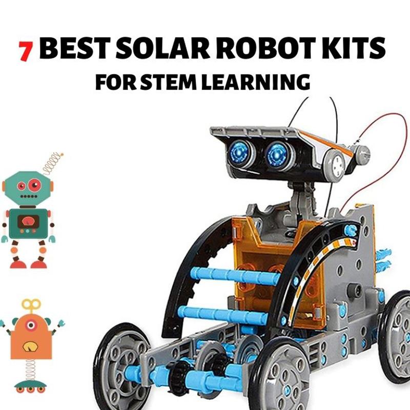 7 Best Solar Robot Kits for STEM Learning