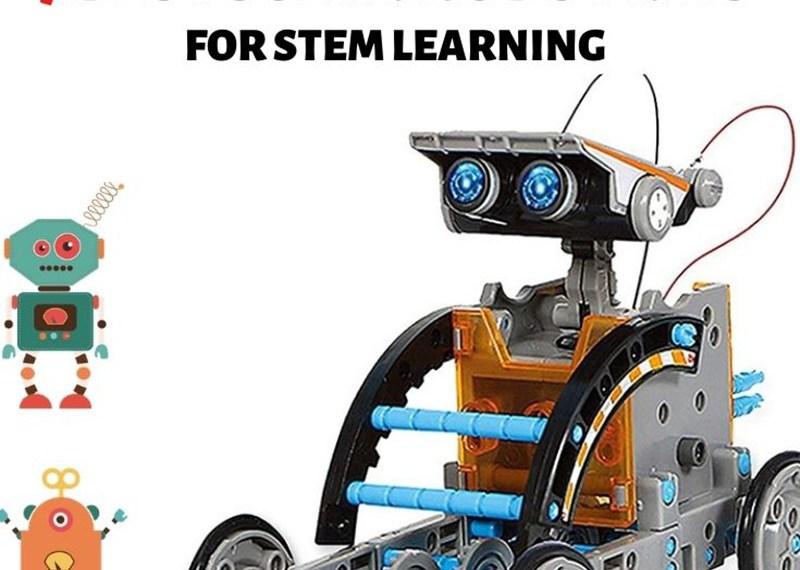 7 Best Solar Robot Kits for STEM Learning (Reviewed 2021)