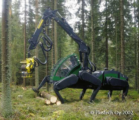 Walking Forest Machine