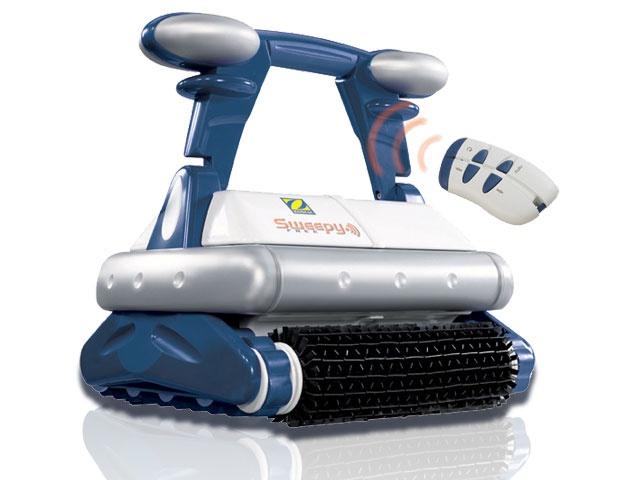 Robot piscine Zodiac SWEEPY FREE avec tlcommande et chariot sur RobotPiscinefr
