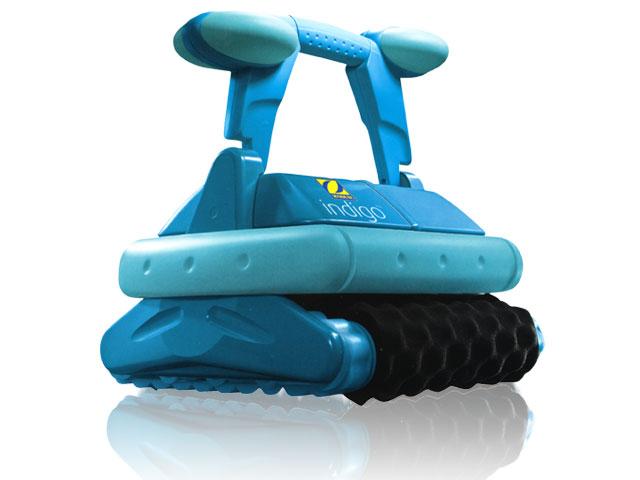 Robot piscine lectrique Zodiac INDIGO brosses mousse avec chariot sur RobotPiscinefr