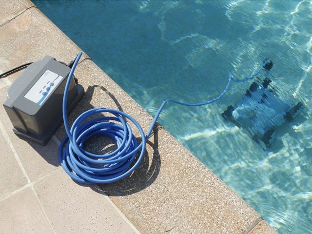 robot piscine electrique ubbink robotclean 2