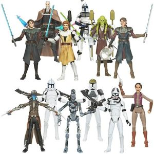 Star Wars Clone Wars Action Figures Wave 10