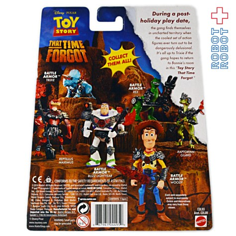 TOY STORY THAT TIME FORGOT  Backcard