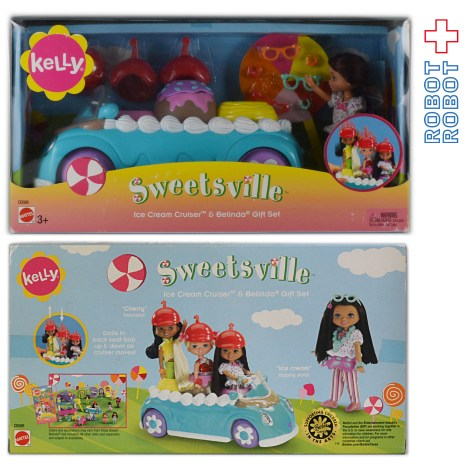 KELLY Sweetsville Ice Cream Cruiser & Belinda Gift Set C0589
