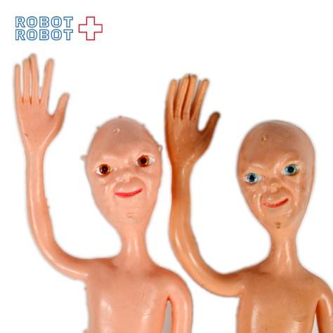 未知との遭遇の宇宙人 CLOSE ENCOUNTERS OF THE THIRD KIND Bendy Bendable Alien Figure