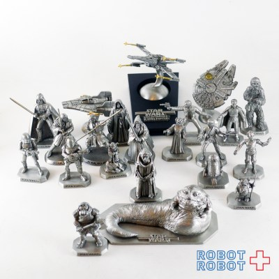 Star Wars Rawcliffe Fine Pewter GROUP