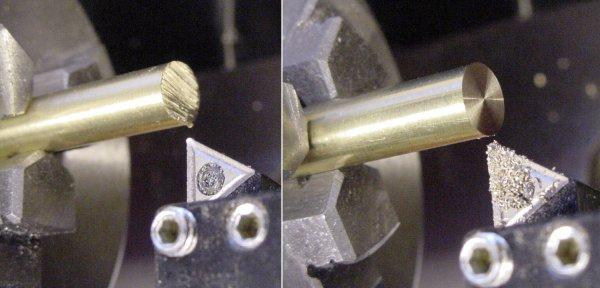 Cutting Brass Rod