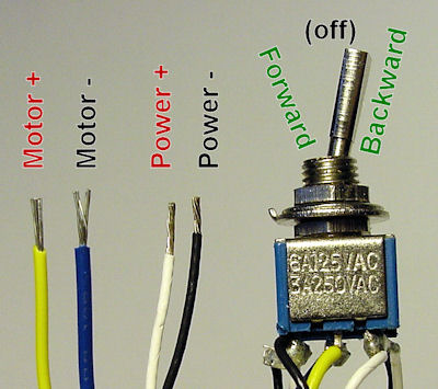 3 way switch wiring diagram red white black 13 pin trailer uk easiest to reverse electric motor directions - robot room