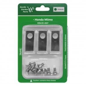 knive,Honda,Miimo,robotplæneklipper