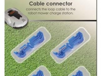 Tilslutningsstik til robotplæneklippere