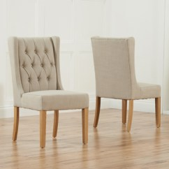 Beige Dining Chairs Sofa Chair Accessories Sophia Oak Pair Robson Furniture