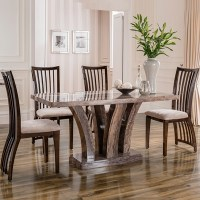 Amari Marble 180cm Dining Table with 6 Chairs