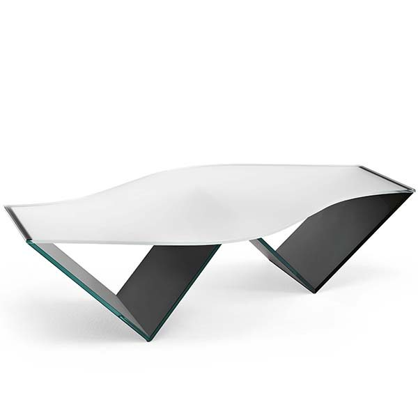 pulse frosted glass coffee table robson furniture