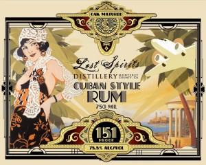 Lost Spirits Cuban Style Overproof Rum by Bryan Davis