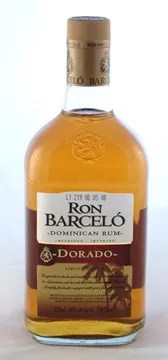 Types of Rum - Barcelo Dorado gold rum