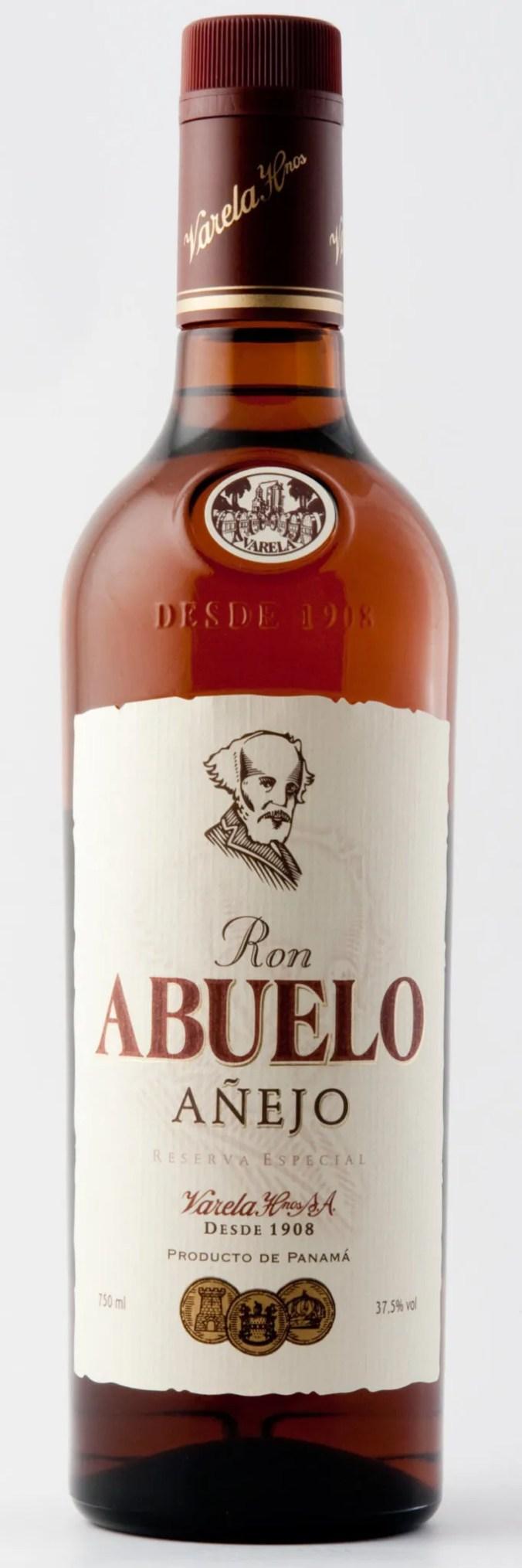 Abuelo Añjeo aged rum from Panama