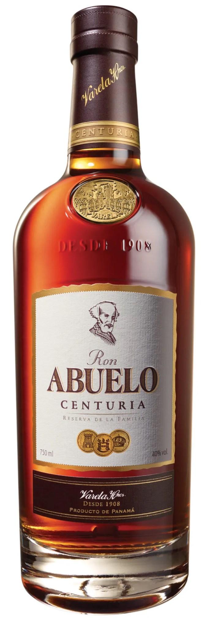 Abuelo Centuria Reserva de la Familia luxury aged rum from Panama