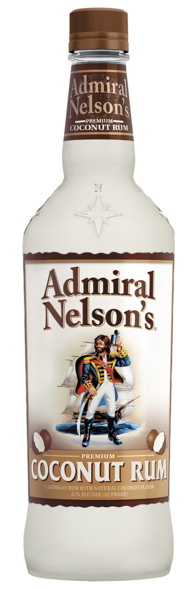 Admiral Nelson Coconut flavored rum from US Virgin Isles