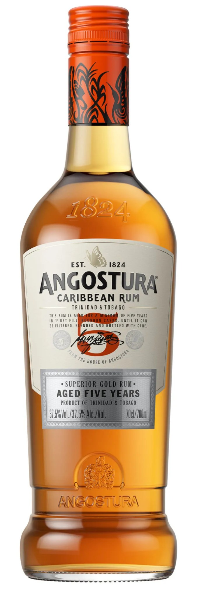 Angostura 5 year old Superior Gold rum from Trinidad