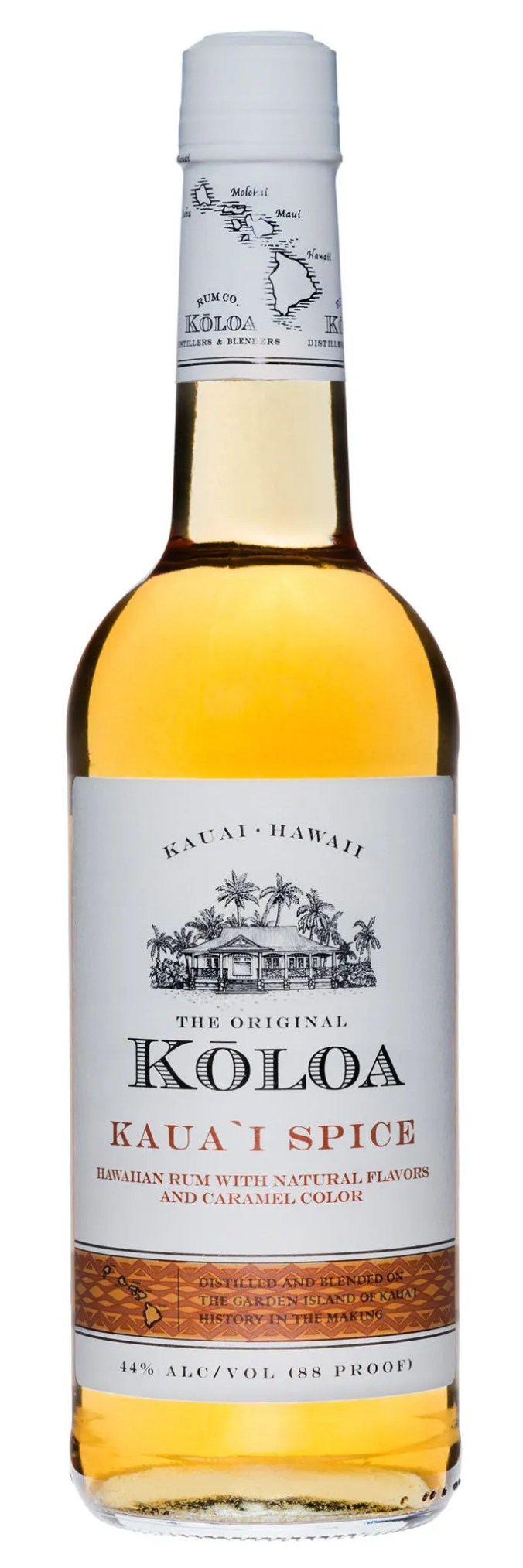 Koloa Kauai Spice Rum from Hawaii