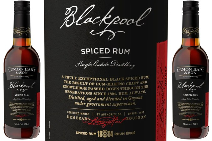 Lemon Hart & Son's Blackpool Spiced Rum