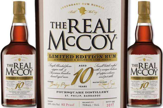 The Real McCoy 10 Year Old Limited Edition Virgin Oak Rum