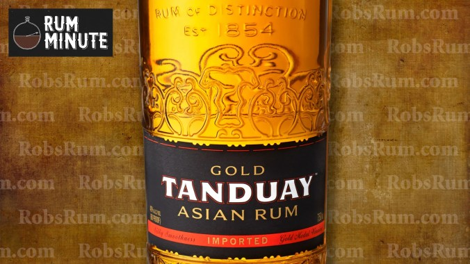 Tanduay Gold - Rum Minute YouTube channel