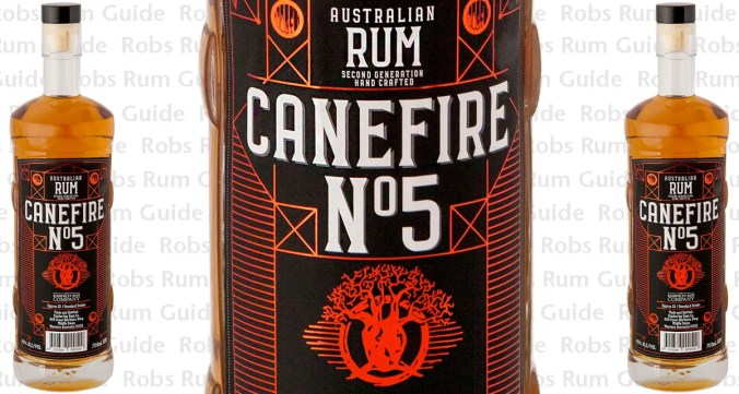 CaneFire No. 5 -- CaneFire 5 Year Old Aged Rum