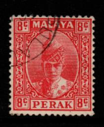 Malaya-Perak SG 111 fine used