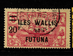 French Cols-Wallis and Futuna SG 42 fine used