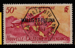 French Cols-Wallis and Futuna SG 157 fine used