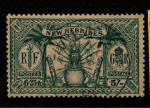 New Hebrides SG 51 fine used