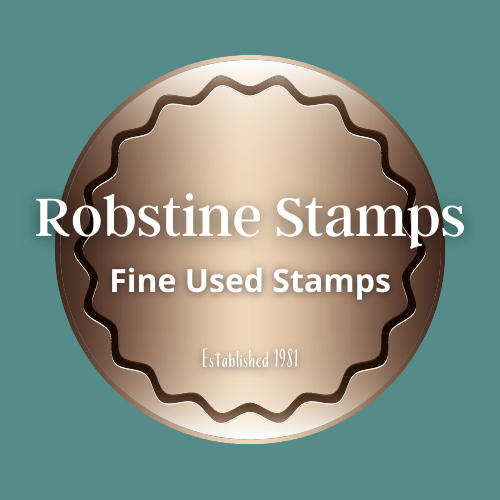 Robstine Stamps for fine used stamps, Stamp Dealer