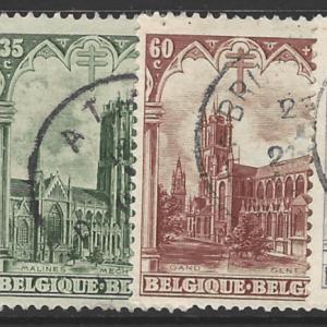 Belgium SG 472-477, fine used stamps