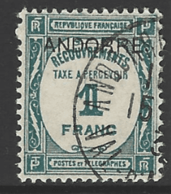 Andorra French Colonies SG FD35