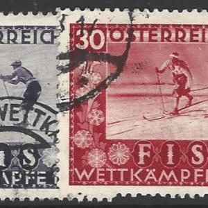 Austria SG 699-702, fine used stamps